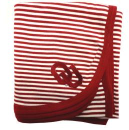 ou striped baby blanket
