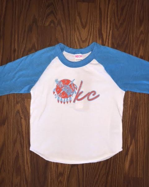 OKC Shield Baseball Tee
