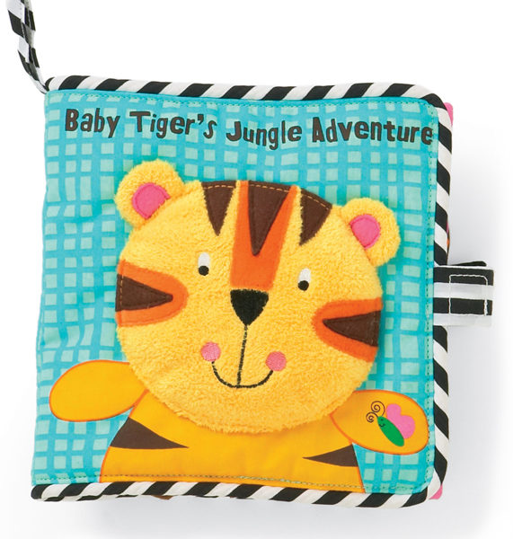 Baby Tiger's Jungle Adventure Cloth Book