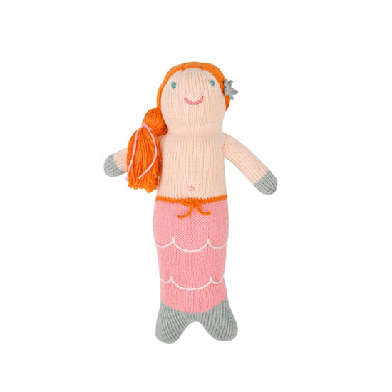 Blabla Melody Mermaid Mini Knit Doll