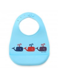 wonder bib whales on parade boy