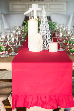 Ruffle Table Runner