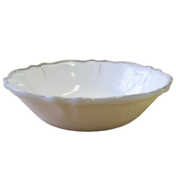 Le Cadeaux Rustica White Cereal Bowl