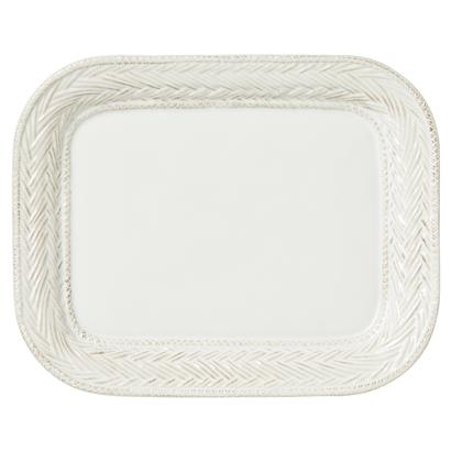 Juliska Le Panier Whitewash Medium Rectangular Platter