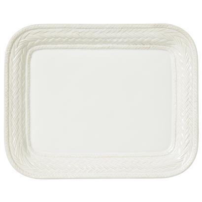 Juliska Le Panier Whitewash Large Rectangular Platter