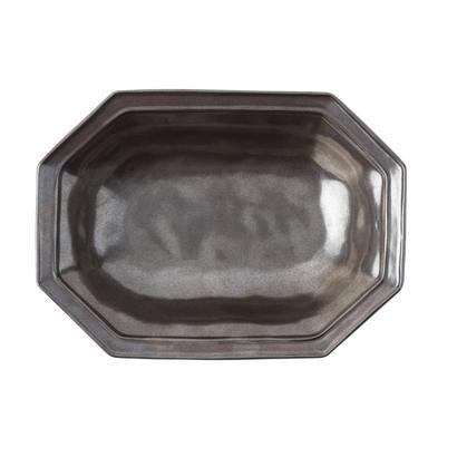 Juliska Pewter Medium Octagonal Serving Bowl