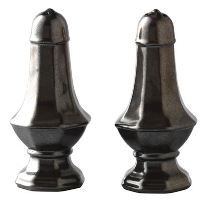 Juliska Pewter Salt Pepper Set