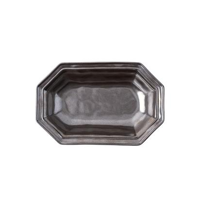 Juliska Pewter Small Octagonal Serving Bowl