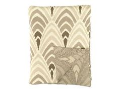 Gray Deco Throw Blanket