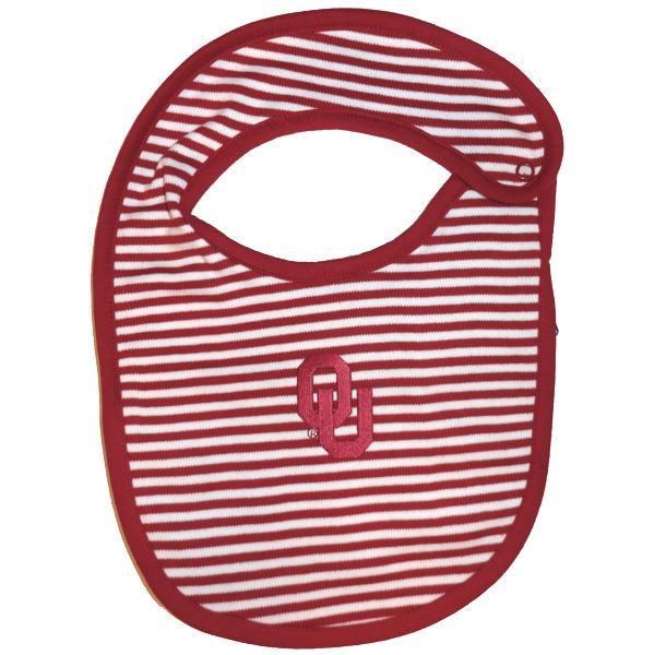 OU Striped Bib