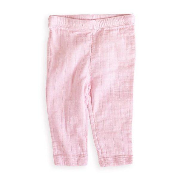 Aden + Anais Pink Muslin Pant