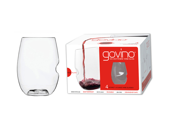 Govino Dishwasher Safe Red Wine Set Of 4