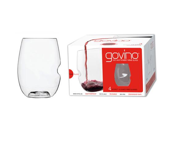 Govino Dishwasher Safe Red Wine Set Of 4