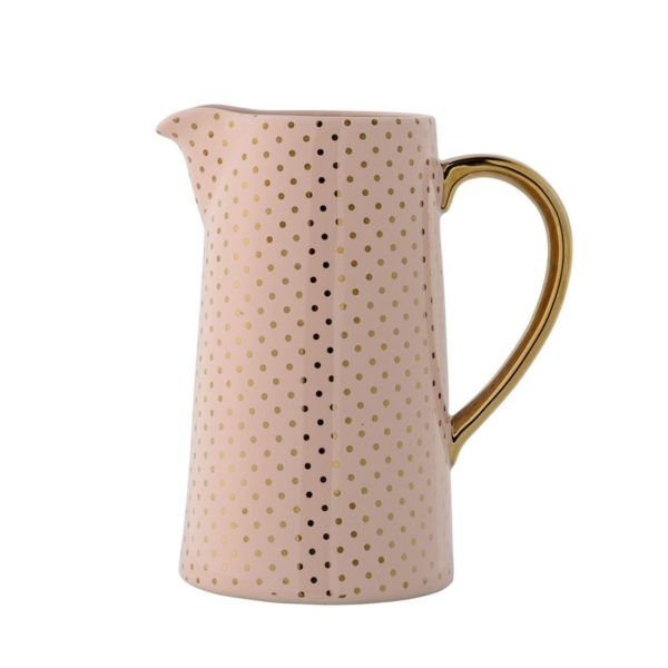 Henrietta Gold Dot Pitcher