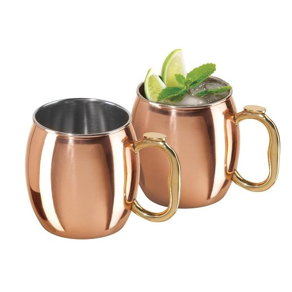 Moscow Mule Mugs Set Of 2
