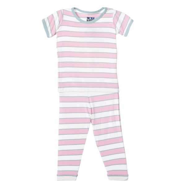 Kickee Pants Girl Musical Stripe Pajama Set