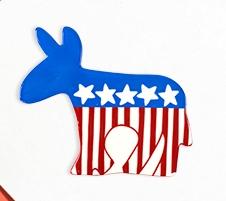 Happy Everything Democrat Donkey Big Attachment