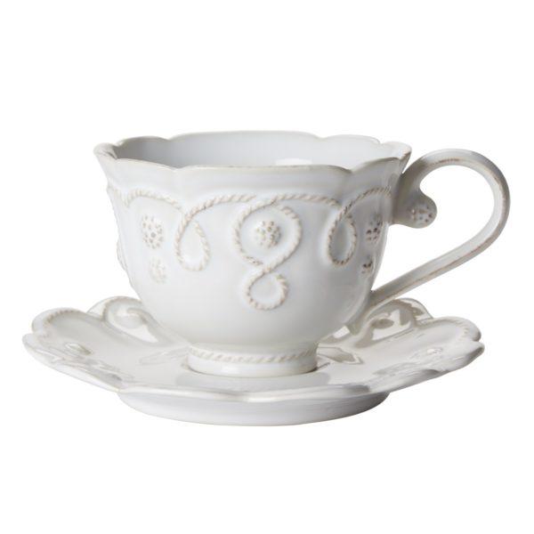 Jardins Du Monde Tea Cup With Saucer