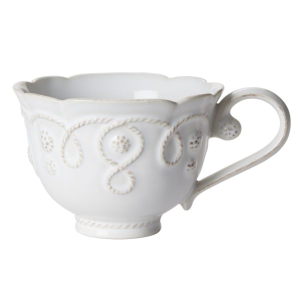 Jardins Du Monde Whitewash Tea Cup