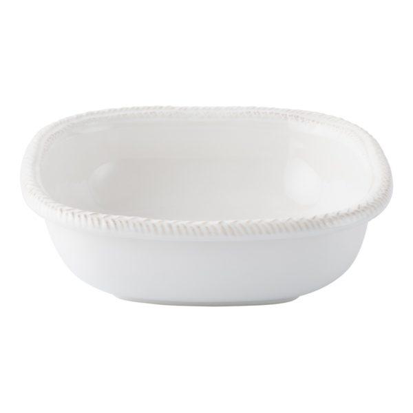 Le Panier Whitewash Small Square Serving Bowl