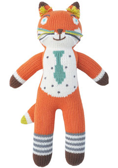 BlaBla Mini Socks Knit Fox Doll