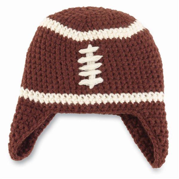 Mudpie Chunky Knit Football Hat