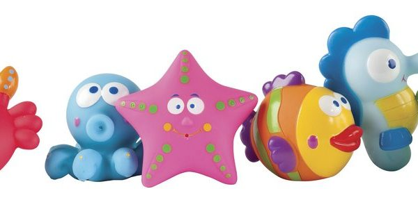 Elegant Baby Lagoon Party Bath Squirties