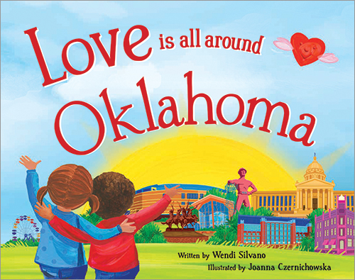 Love Is All Around Oklahoma Book