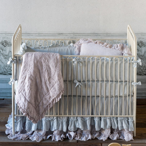 Linen Whisper Crib Skirt1
