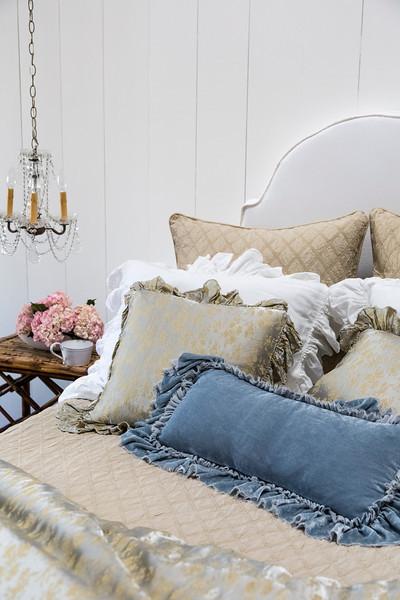 Bella Notte Decorative Kidney Pillow Loulah Tulips Fascinating Decorative Kidney Pillows