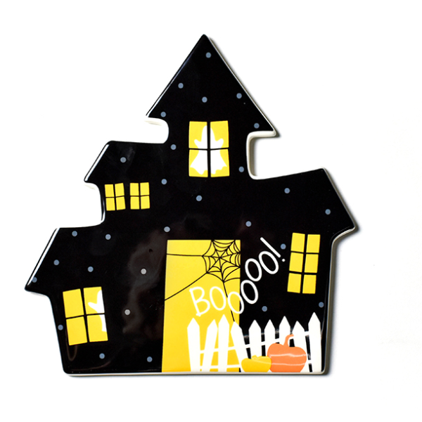 Happy Everything Haunted House Mini Attachment