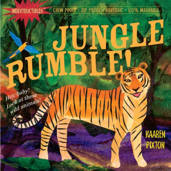 Indestructibles: Jungle Rumble! Book