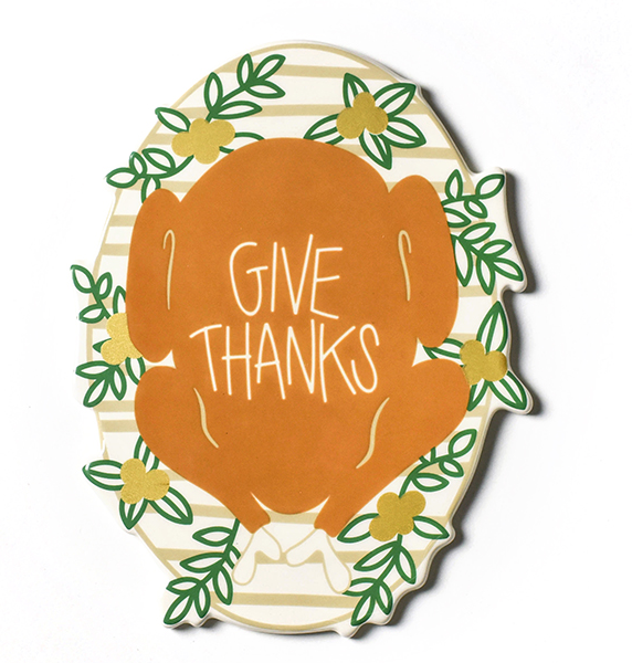 Happy Everything Thanksgiving Turkey Mini Attachment