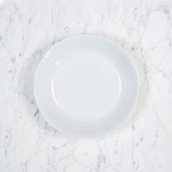 Sasha Nicholas Weave Simply White Cereal Bowl