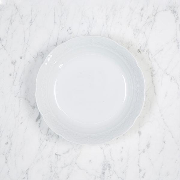 Sasha Nicholas Weave Simply White Cereal Bowl