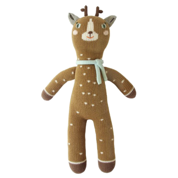 BlaBla Jasper The Deer Knit Doll