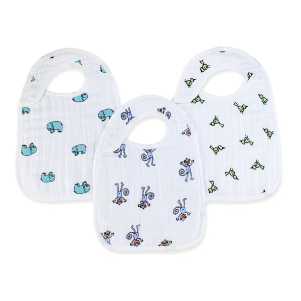 Aden + Anais Jungle Jam Snap Bibs