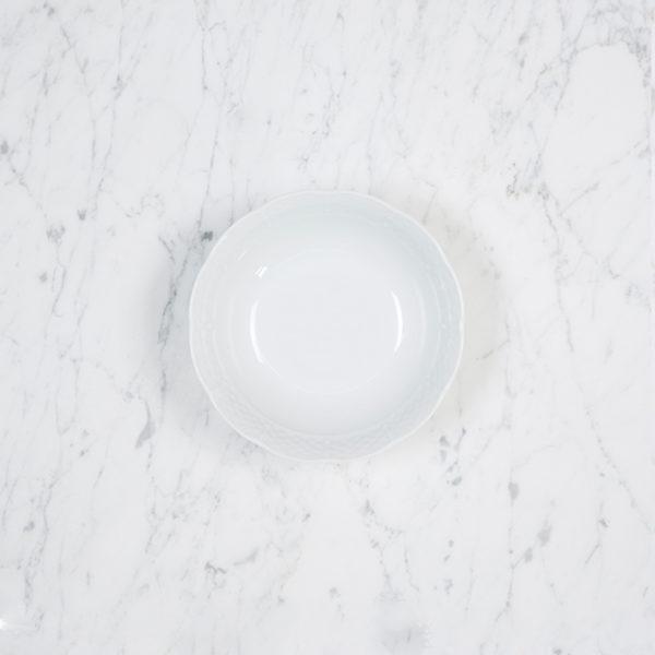 Sasha Nicholas Weave Simply White Petite Bowl