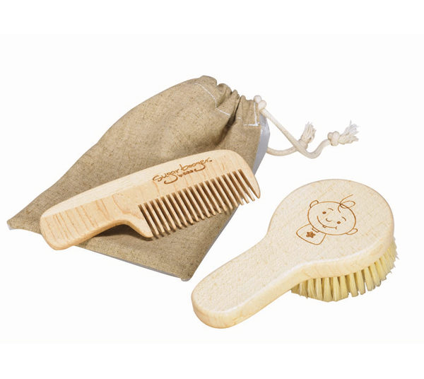 Sugarbooger Peek-a-Boo Baby Brush Set