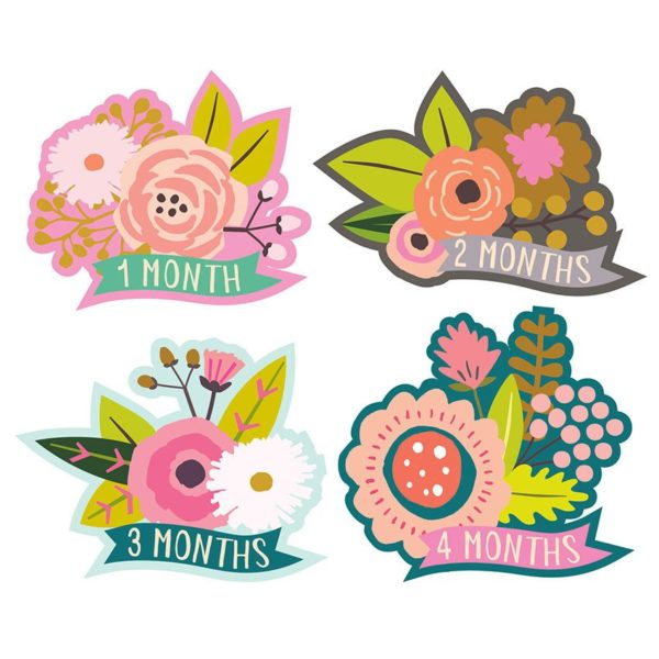 Little Blossom Monthly Stickers