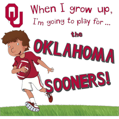 When I Grow Up, I Want To Play For The Oklahoma Sooners Book