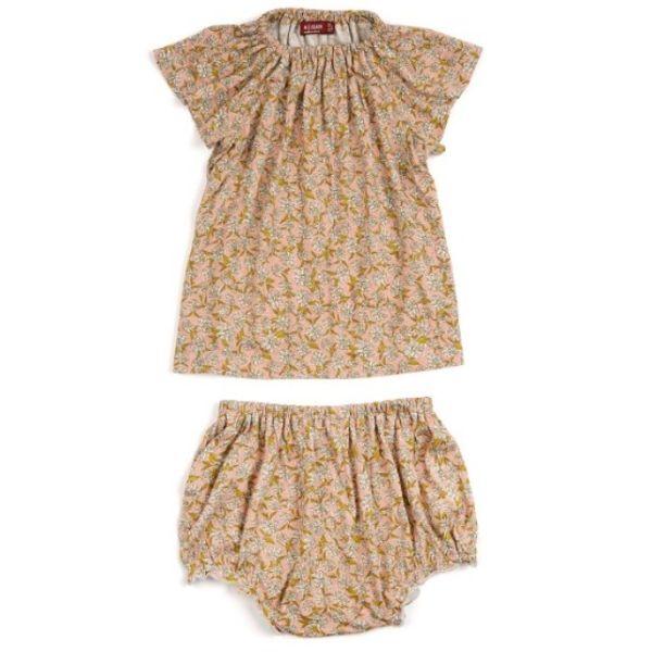 Milkbarn Bamboo Dress & Bloomer Set