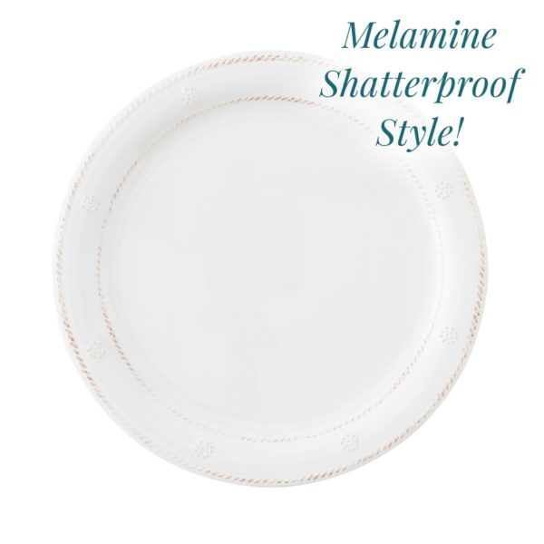 Juliska Al Fresco Berry & Thread Melamine Dinner
