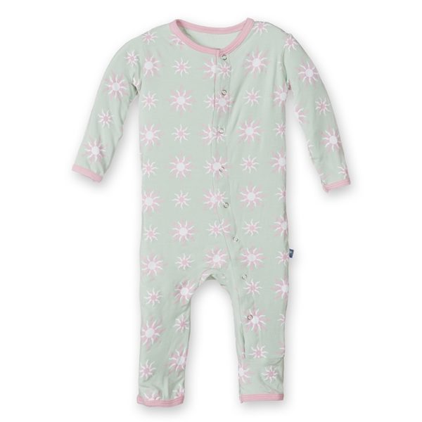 Kickee Pants Aloe Sunshine Coverall