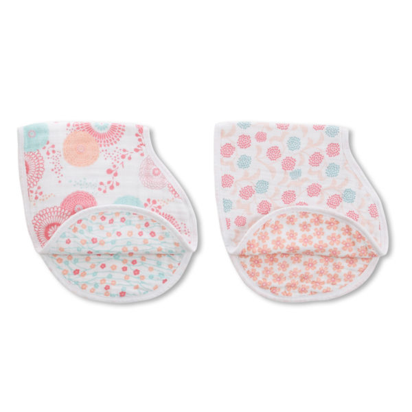 Aden + Anais Tea Global Garden Burpy Bib Set