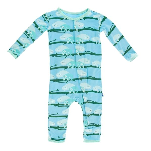 Kickee Pants Confetti Sloth Coverall