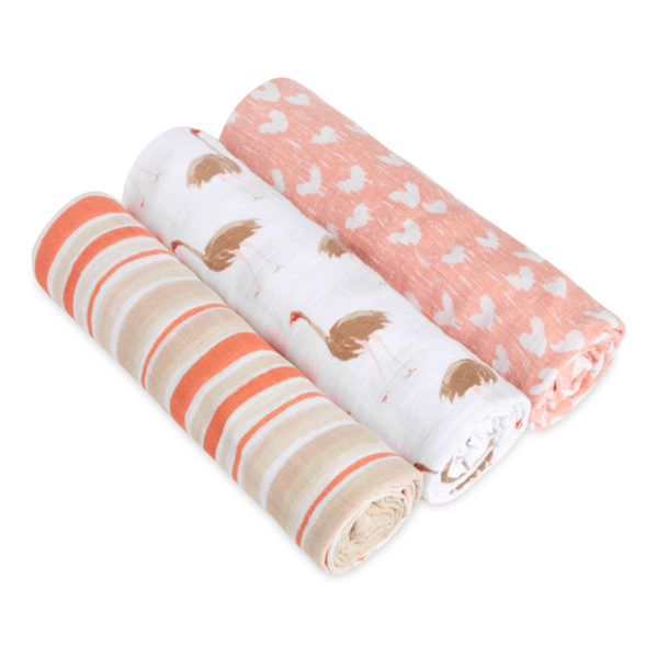 Aden + Anais Classic Swaddle 3 Pack – Flock Together