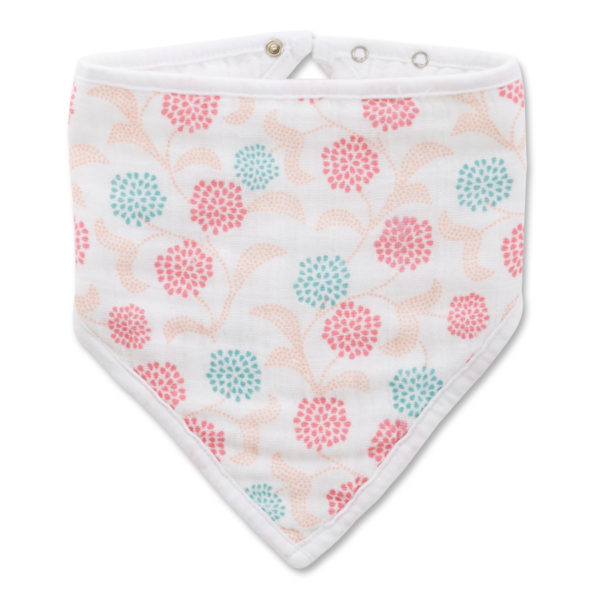 Aden + Anais Tea Global Garden Bandana Bib