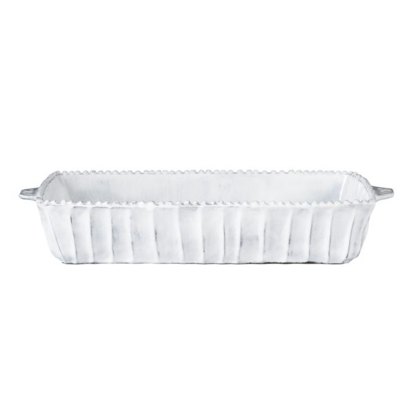 Vietri Incanto Stripe Rectangular Baker