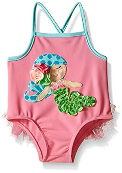 Pink Mermaid Swimsuit
